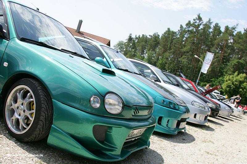 Toyota Treffen Wackersdorf 2007