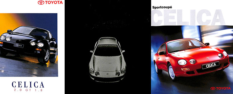 6th Generation Celica Brochures (Prospekte)