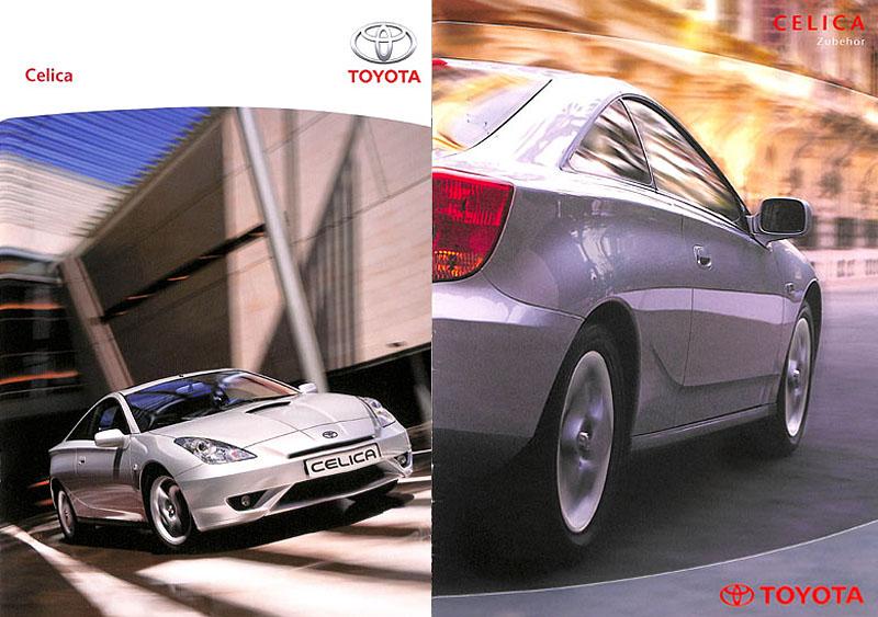 7th Generation Celica Brochures (Prospekte)
