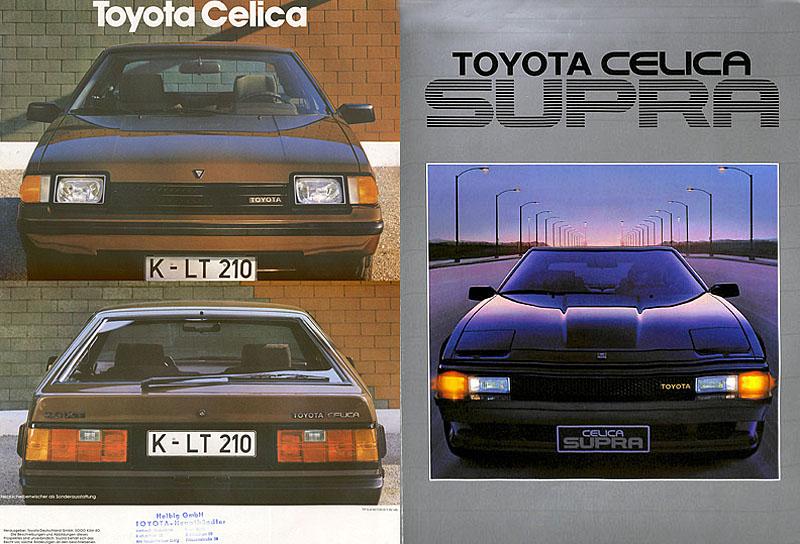 3rd Generation Celica Brochures (Prospekte)