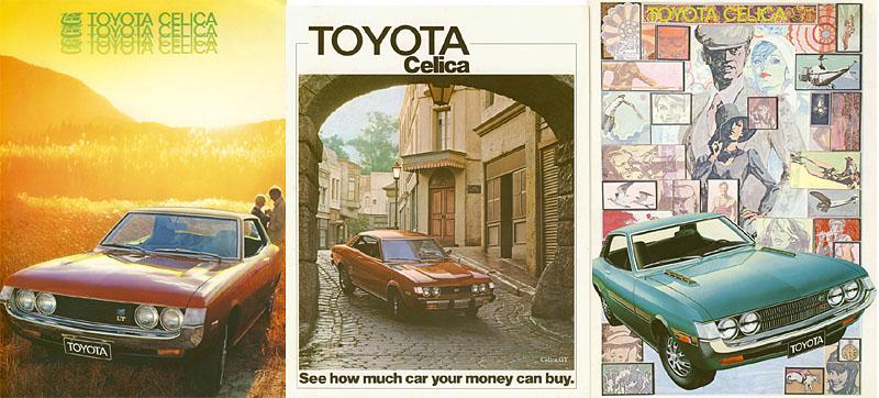 Toyota Celica Prospekte